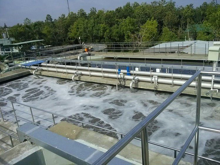 Thi công chống thấm cho bể xử lý nước thải